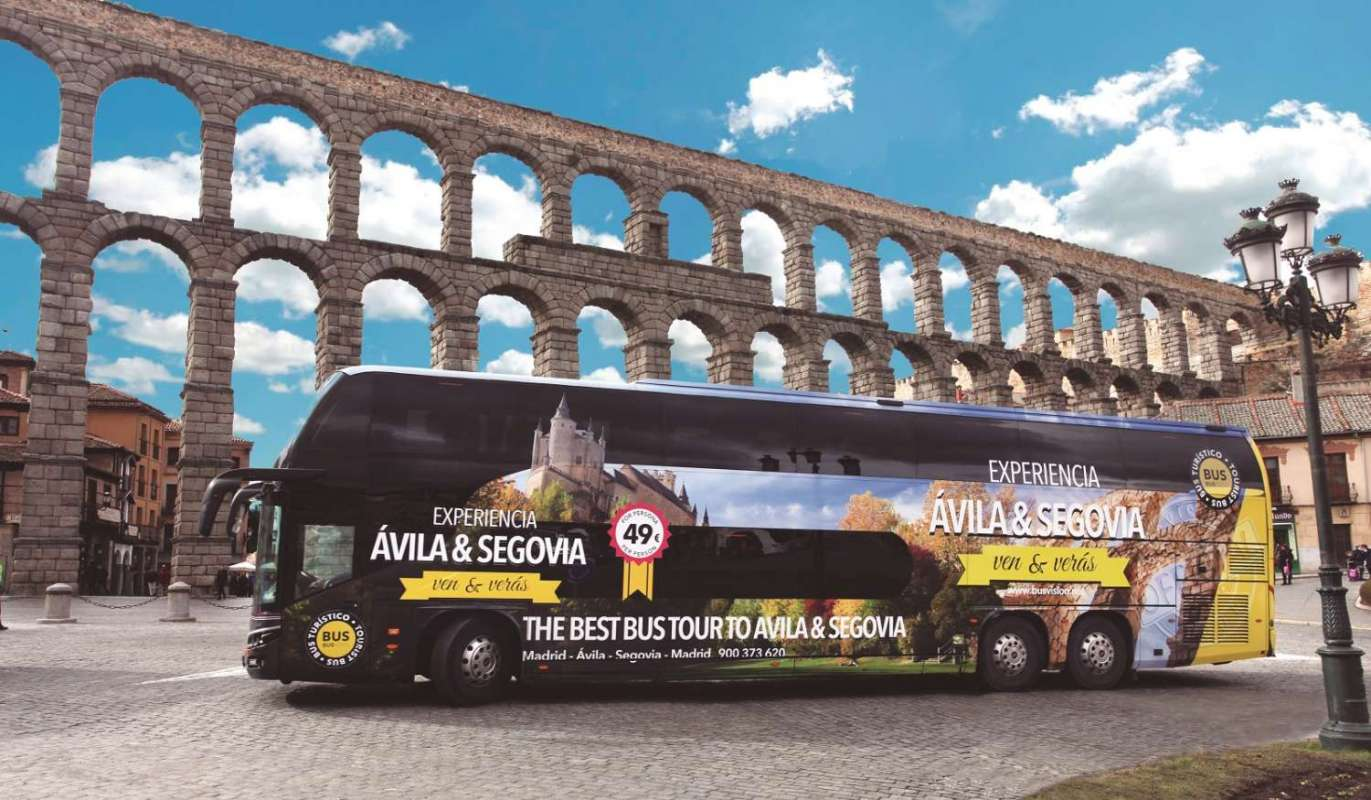 From Madrid: Day Tour To Segovia By Luxury Bus With Guided Walking Tour