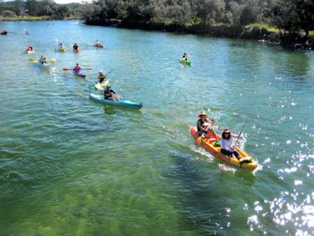 Byron Bay: 2-Hour Kayak Tour At The Brunswick River