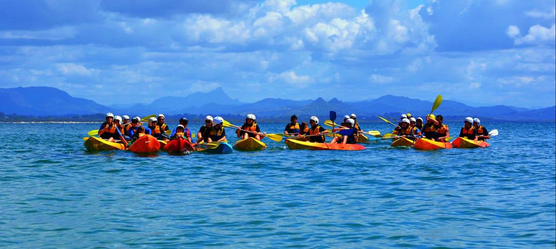 Byron Bay: 3-Hour Sea Kayak Tour & Dolphin Spotting