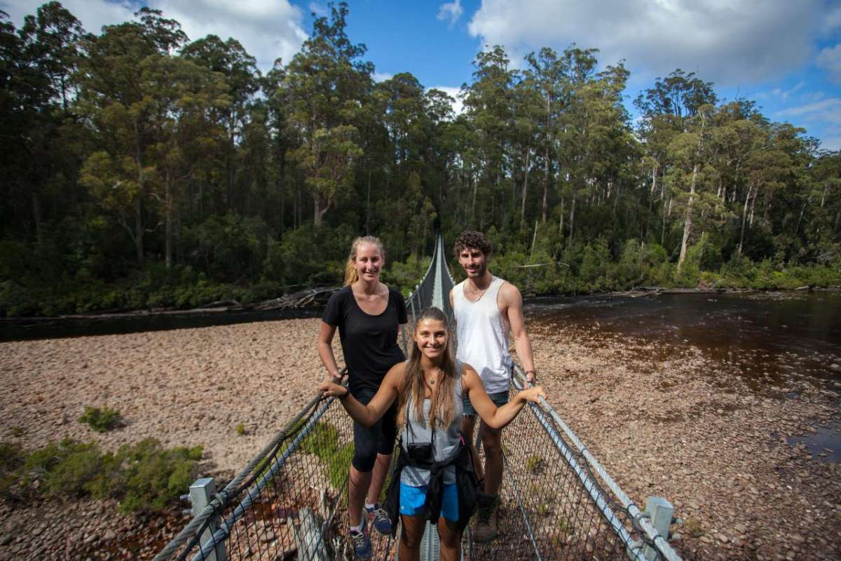 From Hobart: Full-Day Trip To Tahune Airwalk And Visit To The Hastings Caves
