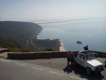 From Lisbon: Guided 4X4 Tour In Arrábida Natural Park