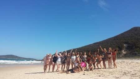 Von Sydney: Tagesausflug Nach Port Stephens Mit Australischem Barbecue Und Sandboarding