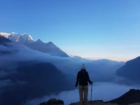De Katmandu: 5 Dias Mount Everest View Trek