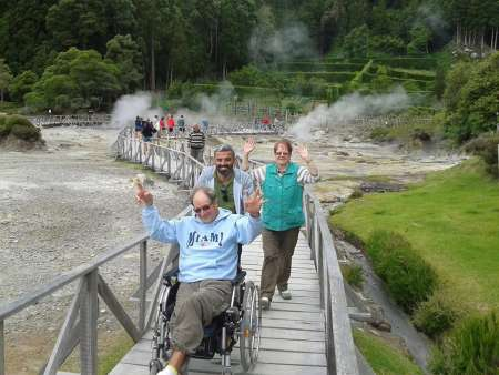 Full-Day Tour In Adapted Van To Furnas