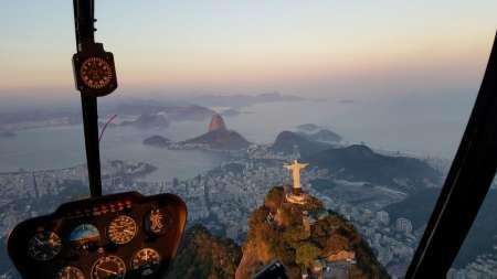 Rio De Janeiro: Passeio Privado De Helicóptero De 30 Minutos