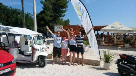 Split City-Tour In Unique Cabriolet