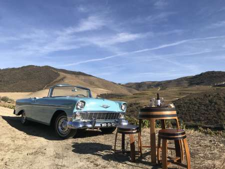 Classic Car Tour To The Douro Valley With Lunch, Boat Ride & Wine Tastings