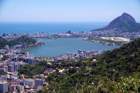 Lagune von Rodrigo de Freitas