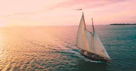 Key West: Un Viaje En Velero Al Atardecer En La Goleta 'when And If'