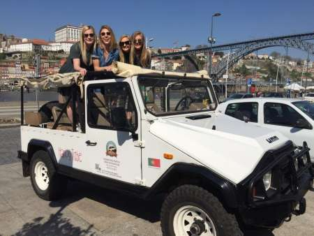3-Hour Private 4X4 City Tour In Porto