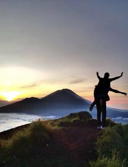 Trekking Tour In Mount Batur At Sunrise And Visit To Natural Hot Spring