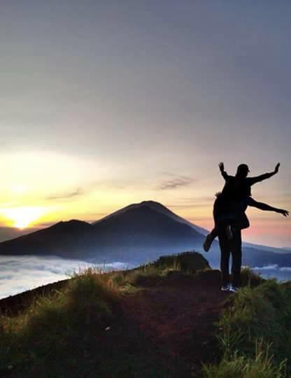 Excursão De Trekking No Monte Batur Ao Nascer Do Sol E Visita A Fonte Termal Natural
