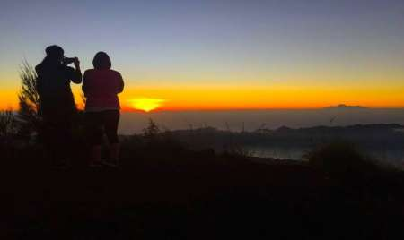 Bali: Trekking At The Sunrise At Mount Batur And Visit To Natural Hotspring
