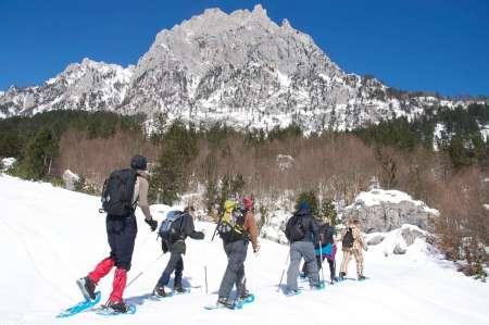 Tour De 10 Días Para Practicar Raquetas De Nieve En Montenegro, Kosovo Y Albania