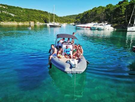 Private Boat Tour To Hvar, Brac And Solta Starting From Trogir Or Split