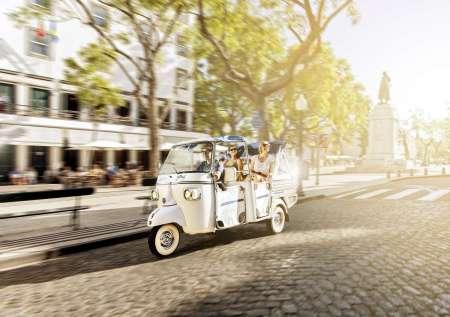 Visite Des Collines De L'ouest De Lisbonne Dans Un Tuk Tuk