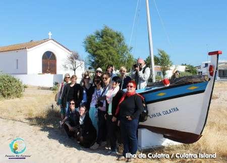 Fischerroute: 2-Stündige Bootsfahrt Zur Insel Culatra In Ria Formosa