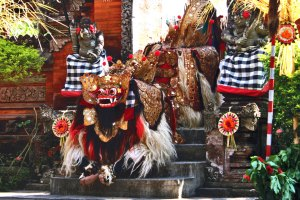 Bali Kintamani Volcano Tour: Watch Barong And Keris Traditional Dance