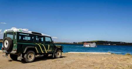 Vila Real De Santo Antonio: Jeep Tour In The Algarve Mountains & Cruise Along The River Guadiana
