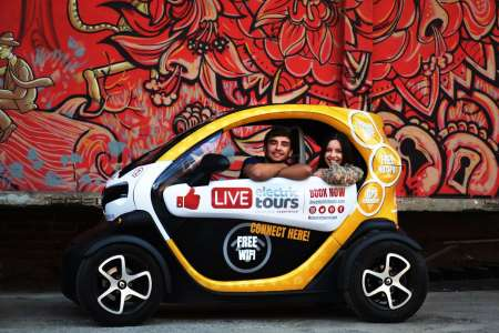 Lisbon: Full-Day Electric Car Tour With GPS Audio Guide