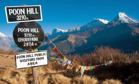 10-Day Trekking Tour At The Ghorepani Poonhill Trek With Visit To Kathmandu, Pokhara & Annapurna
