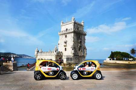 Lisbon: Electric Car Tour To Belém & Riverside With GPS Audio Guide