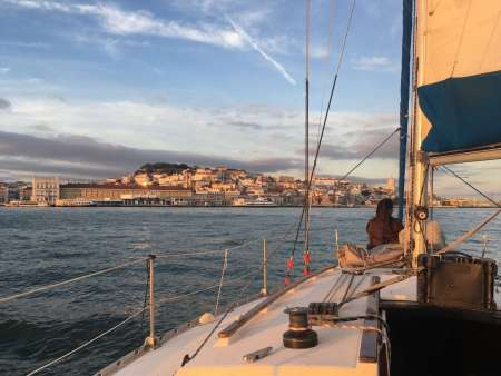 Lisbon: 2-Hour Sailing Tour At Sunset With Tastings Of Portuguese Wine & Snacks
