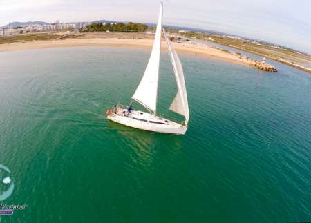 From Fuzeta Island: 4-Hour Sailboat Tour Along Ria Formosa And The Algarve Coast
