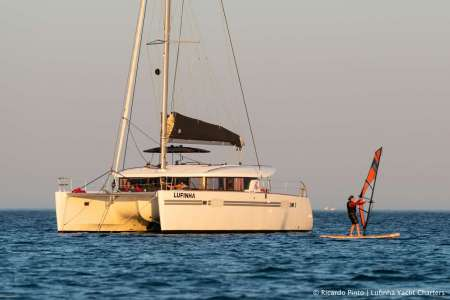 Lagos: 2-Hour Private Tour At Sunset On A Luxury Catamaran