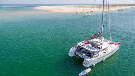 Lagos: Full-Day Private Tour On Luxury Catamaran