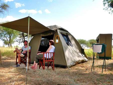 5-Day Camping Safari In National Parks Of Tanzania