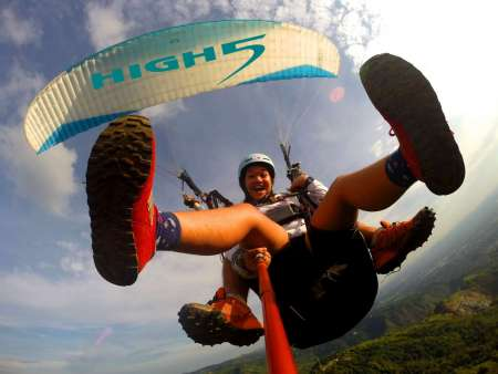 From Manila, Philippines: Experience A Paragliding Tandem Flight