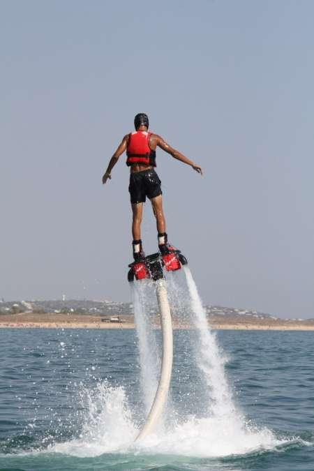 Flyboard Erfahrung In Armação De Pera, Algarve