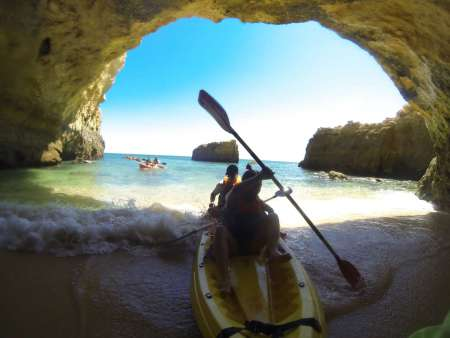 Explore Algarve Caves And Wild Beaches By Kayak