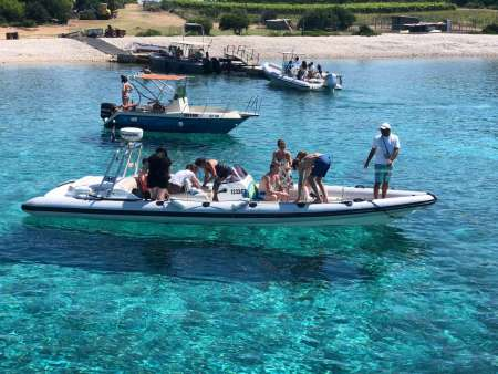 From Split: Private Tour On Speed Boat To Hvar, Pakleni Islands, Bol & Brac