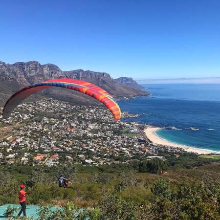 Paragliding Experience In Cape Town
