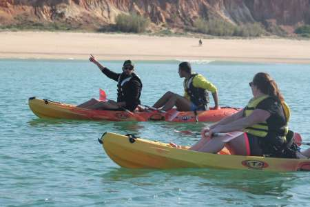 Tour De Kayak De 2 Heures À Vilamoura