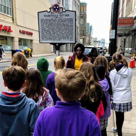 Nashville: Guided Walking Tour About Civil Rights Movement