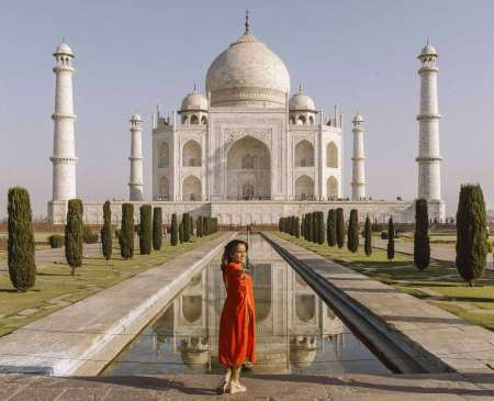 Taj Mahal Day Tour By India's Fasted Train