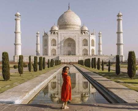 Excursion D'Une Journée Au Taj Mahal En Train À Jeun En Inde