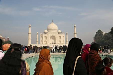 Taj Mahal Ganztagestour Ab Delhi