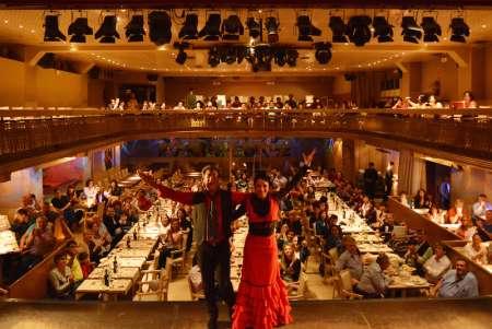 Spectacle Flamenco Espagnol Authentique D'une Heure Au Palacio Del Flamenco À Barcelone Avec Boisson