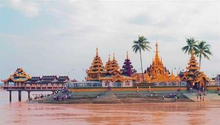 Von Yangon: Ganztagestour Nach Syriam, Thanlyin