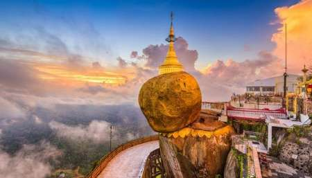 Yangon: Full-Day Trip To Golden Rock Pagoda