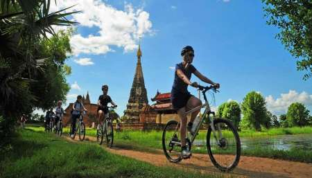 Half-Day Bike Tour To Old Capitals In Mandalay, Myanmar
