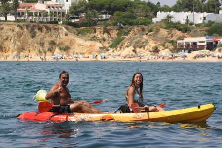 Algarve: Kayak Rental In Armação De Pêra Beach