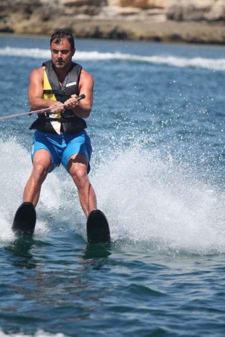 Water Ski Experience In Armação De Pêra Beach