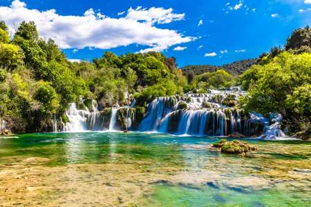 From Split: Full-Day Tour To Krka Waterfalls & Skradin