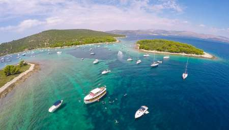 Blue Lagoon & Trogir Half-Day Tour From Split