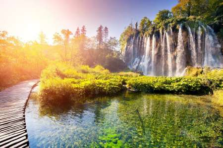 From Zagreb: Plitvice Lakes Tour Ending In Split Or Zadar